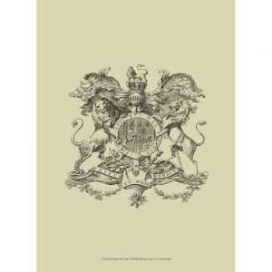 SG1555 heraldry II coat of arms crest sketch drawing