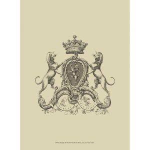 SG1556 heraldry III coat of arms crest sketch drawing