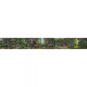 SG1742 african jungle animals mural graphic