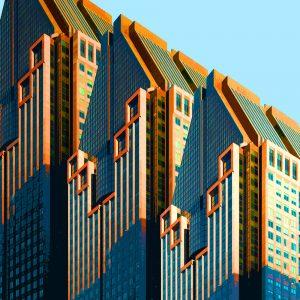 TM1151 modern architecture building colour