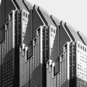 TM1153 modern architecture building mono