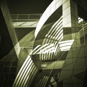 TM1160 modern architecture building green
