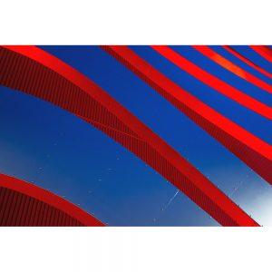 TM1161 modern architecture fascia red