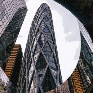 TM1163 modern architecture offices colour