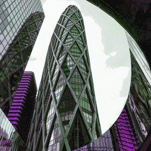 TM1164 modern architecture offices purple