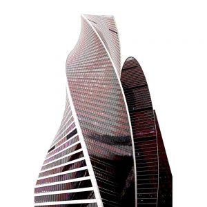 TM1173 modern architecture offices purple