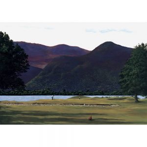 SG190 golf course trees landscapes figures lake mountains