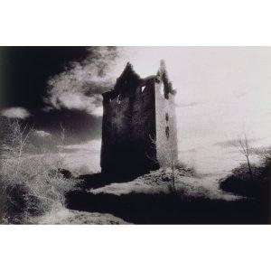 SG1917 clouds county clare danganbrack tower historic building irish ireland ruin towers winter