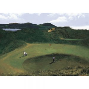 SG196 golf course trees landscapes figures mountains