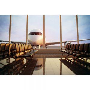 SG1963 airplane view airport terminal