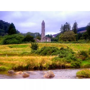 SG2004 ireland round tower glendalough county wicklow ireland