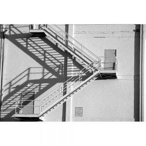 SG2027 staircase brick building shadows