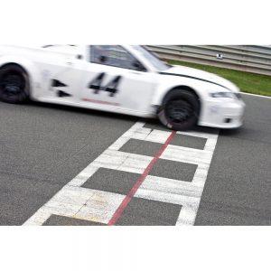 SG2098 race car finish line circuit