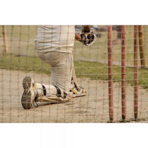 SG2161 boy playing cricket batting nets