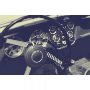 SG2171 cockpit vintage sports car