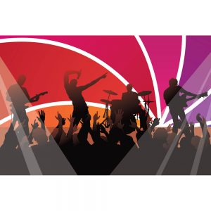 SG2356 dancing rock concert audience music