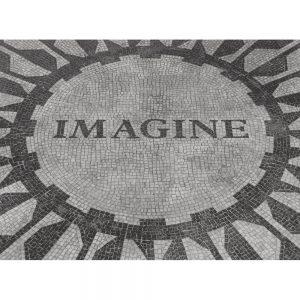 SG2410 imagine mosaic tribute john lennon central park