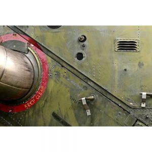 SG2436 military metal plate