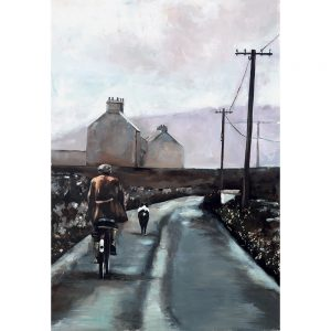SG395 bike bicycle dog cycling road lane landscapes