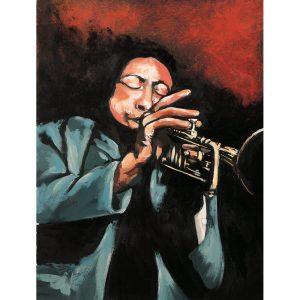 SG535 trumpet instrument instruments red brass male man men