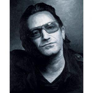 SG554 music musican bono u2 irish ireland figure man male portrait