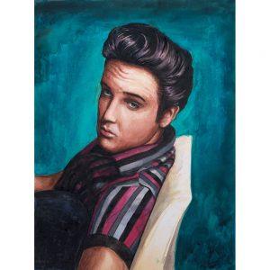 SG566 elvis presley music musican male man figure portrait