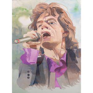 SG570 mick jagger music musican singer figure portrait