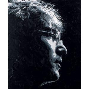 SG571 john lennon beatles music musican male portrait