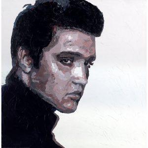 SG572 elvis presley music musican male man figure portrait