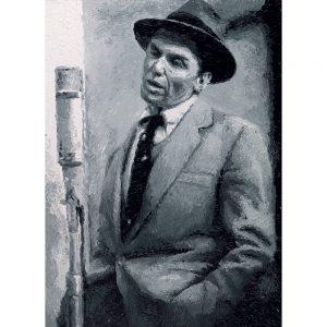 SG579 frank sinatra musician singer actor hollywood male portrait