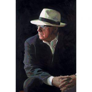 SG584 man male hat suit paint painting figure
