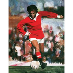 SG632 george best football sport player pitch