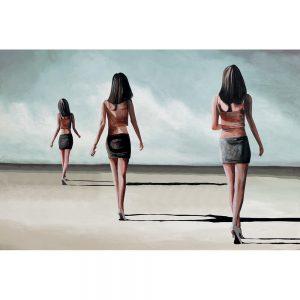 SG644 female women beach summer sand figures holiday