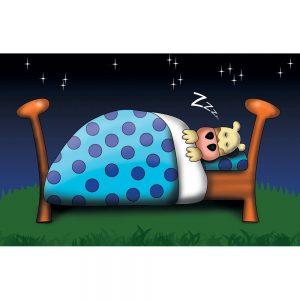 SG645 bed time bedtime sleep cow cartoon