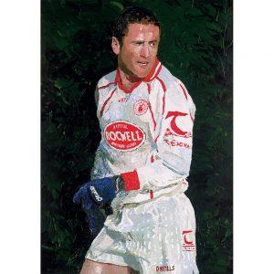 SG698 tyrone player GAA football sport portrait