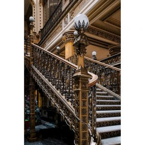 TM1255 architecture classic stairs colour