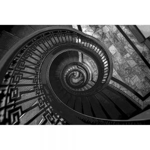 TM1261 architecture spiral staircase mono