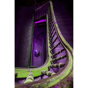 TM1275 architecture purple bannister