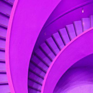 TM1279 architecture modern stairs pink