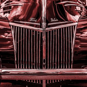 TM1307 automotive american cars ford maroon