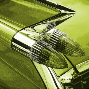 TM1316 automotive american cars rocket lights green