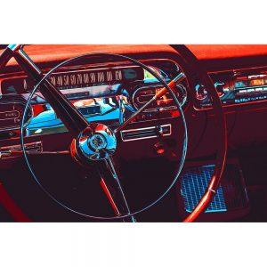 TM1326 automotive american cars wheel red