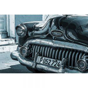 TM1354 automotive cuban cars blue