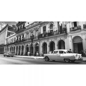 TM1357 automotive cuban cars street mono