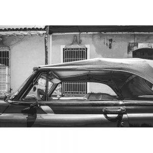 TM1362 automotive cuban cars convertible mono
