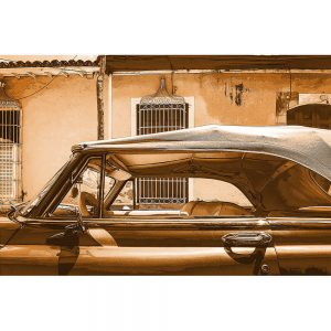 TM1364 automotive cuban cars convertible brown