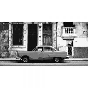 TM1377 automotive cuban cars street mono