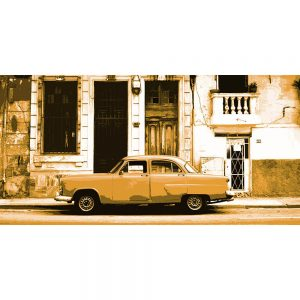 TM1379 automotive cuban cars street brown
