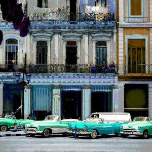 TM1381 automotive cuban cars street