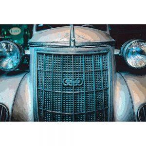 TM1410 automotive classic cars auto union blue